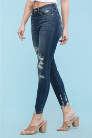 Distressed Skinnies 82319