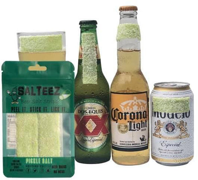 Beer Salt Strips Pickle