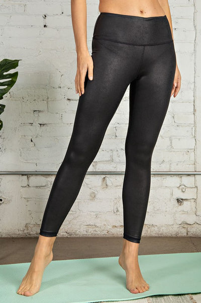 Wide Band Pebble Leggings