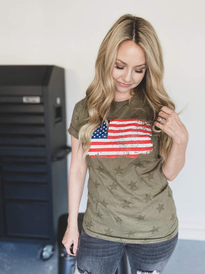 Stars & Stripes Flag Tee