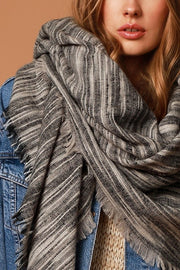 Blanket Scarf Grey