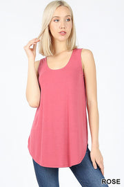 Zen Premium Tank Top Rose