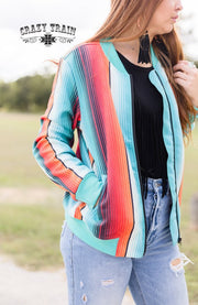 Back Road Bomber Jacket Serape