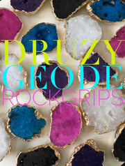 Druzy Phone Grip White
