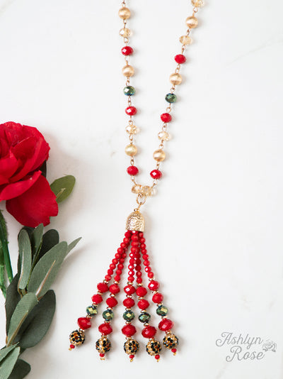 Christmas Crystal Necklace