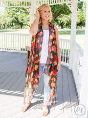 The Great Pumpkin Tassel Vest