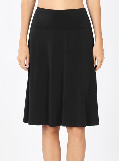 Zen Premium Skirt Black