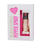 Bling Sting Cow Hide Pepper Spray