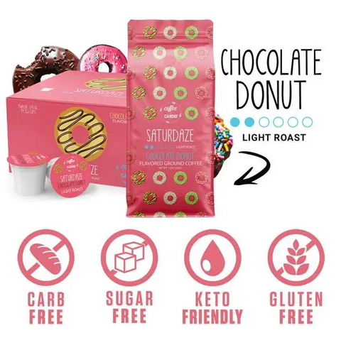 Saturdaze Chocolate Donut K-Cups