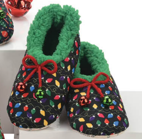 Ugly Christmas Slippers Lights