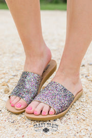 Showstopper Glitter Slides