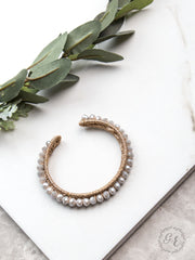 The Essential Stackable Bracelet Beige