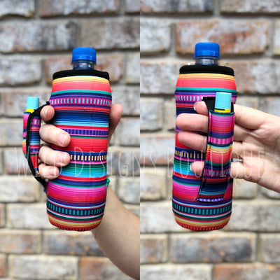 Serape Water Bottle Pocket Handler