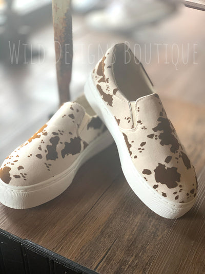 Cow Royalty Platform Sneaker
