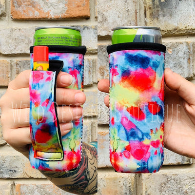 Tie Dye Slim Pocket Handler