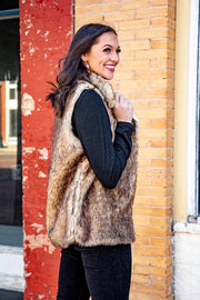 Fur Pocket Vest