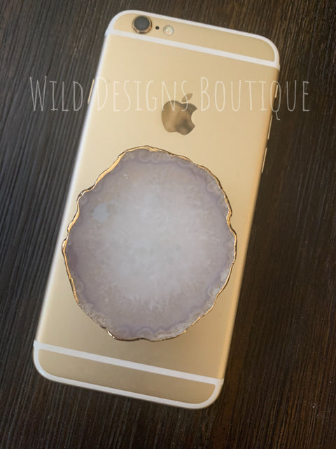 Stone Phone Grip Natural