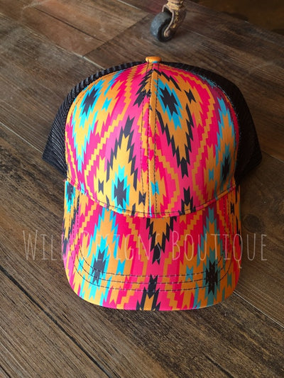 Hot Head Aztec Trucker Hat
