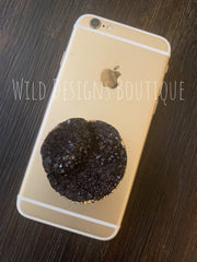 Druzy Phone Grip Black
