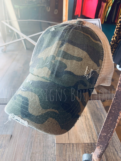Camo Multi Wear Cap