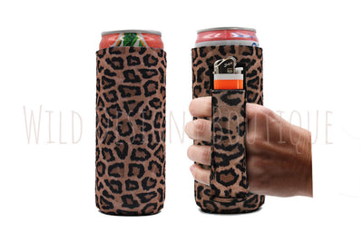 Leopard Slim Pocket Handler