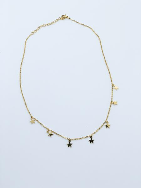 Star of the Show Necklace Gold