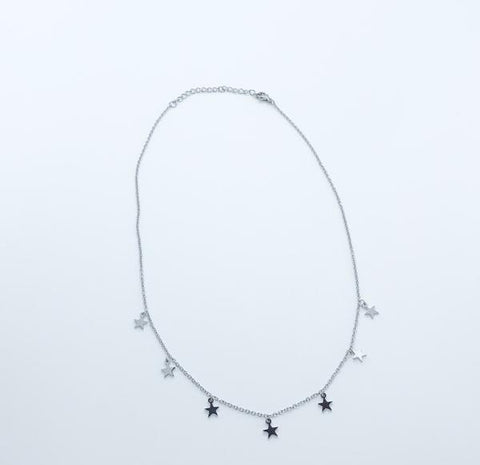 Star of the Show Necklace Silver