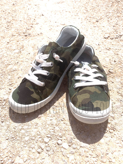 Kelly Comfort Sneakers Camo
