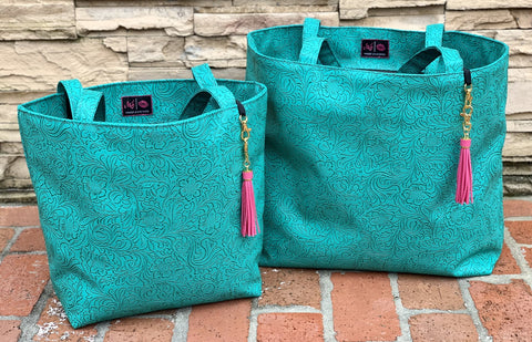 Makeup Junkie Turquoise Dream Totes