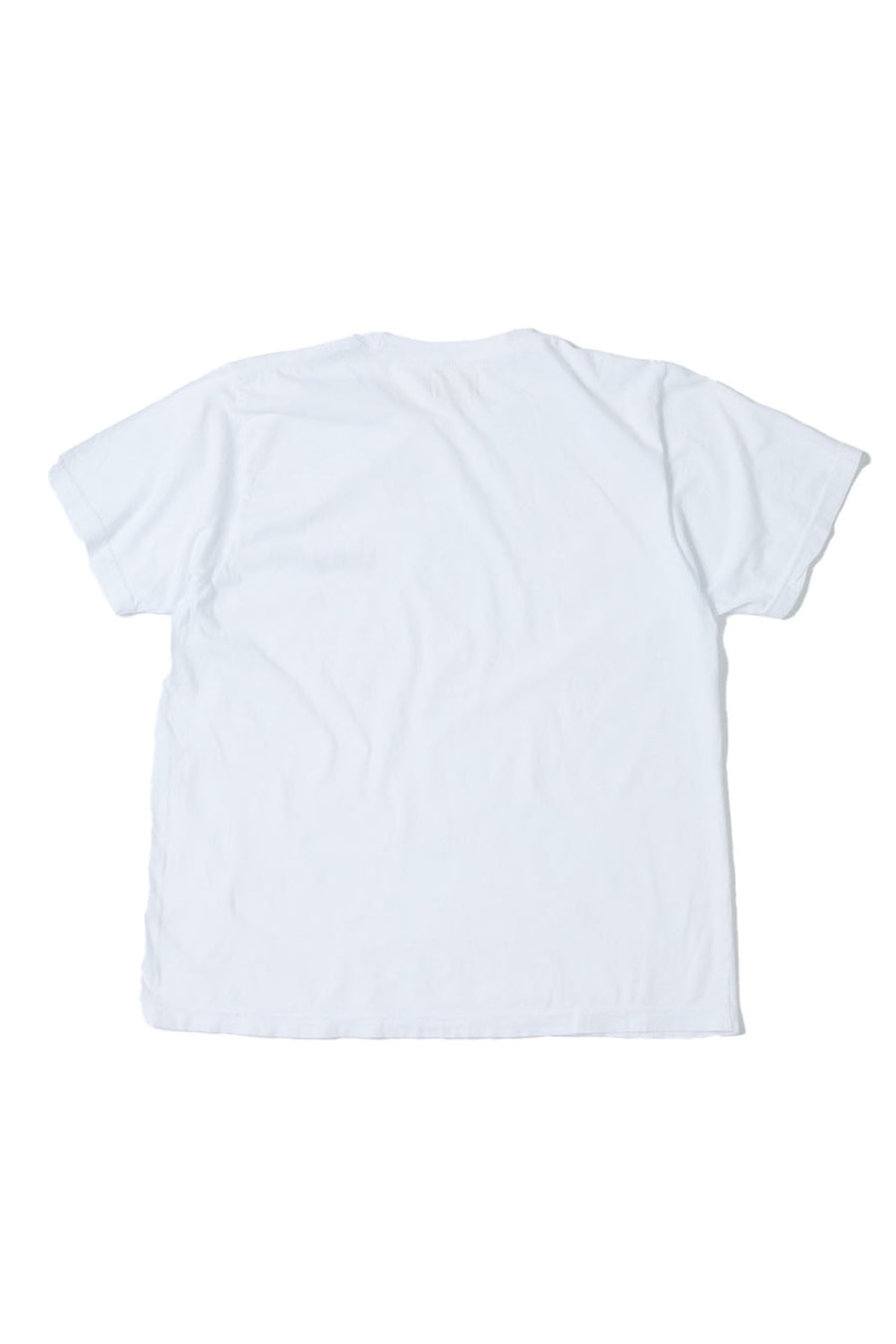 Upcycle Logo Tee | White