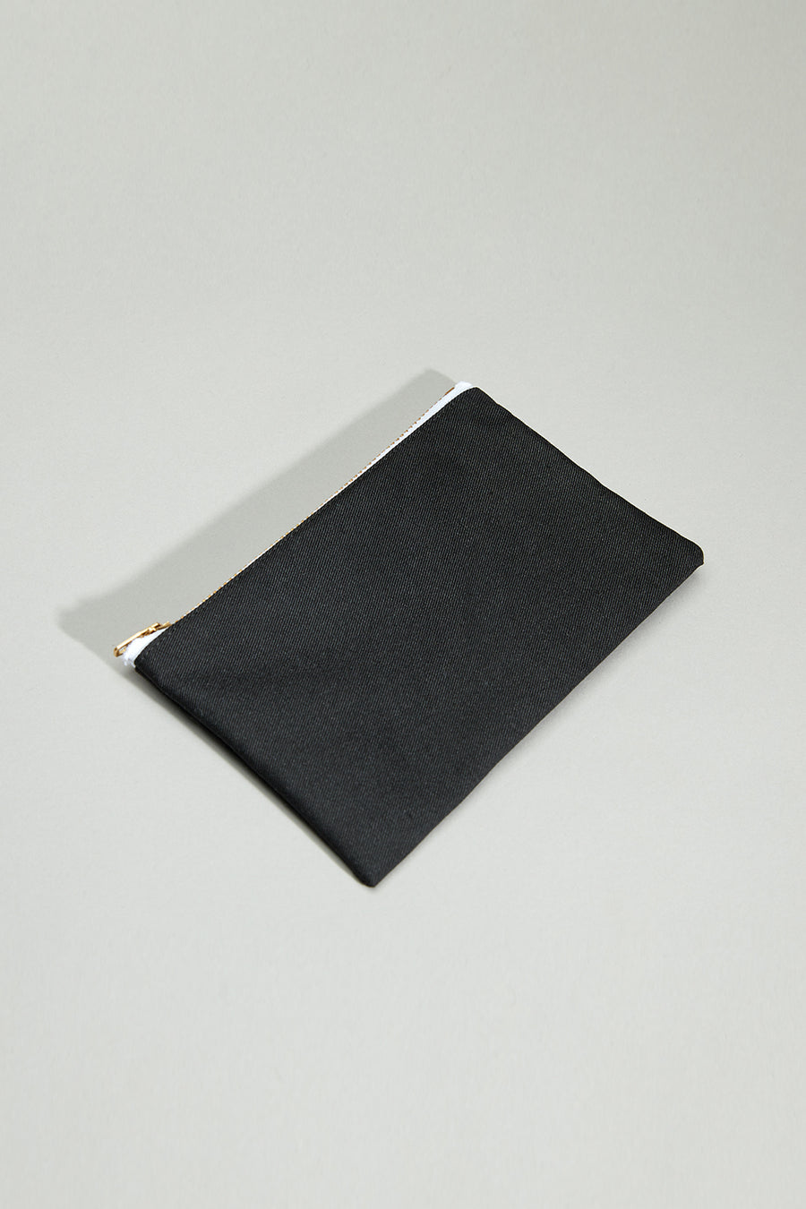 Eco Twill Coin Bag | Black