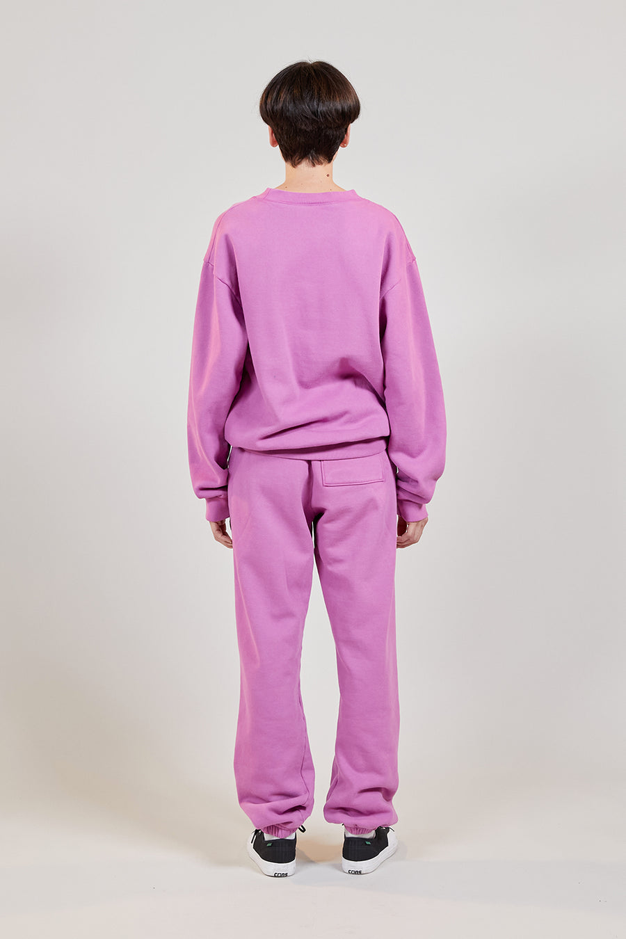 Organic Fleece Crewneck | Ultraviolet