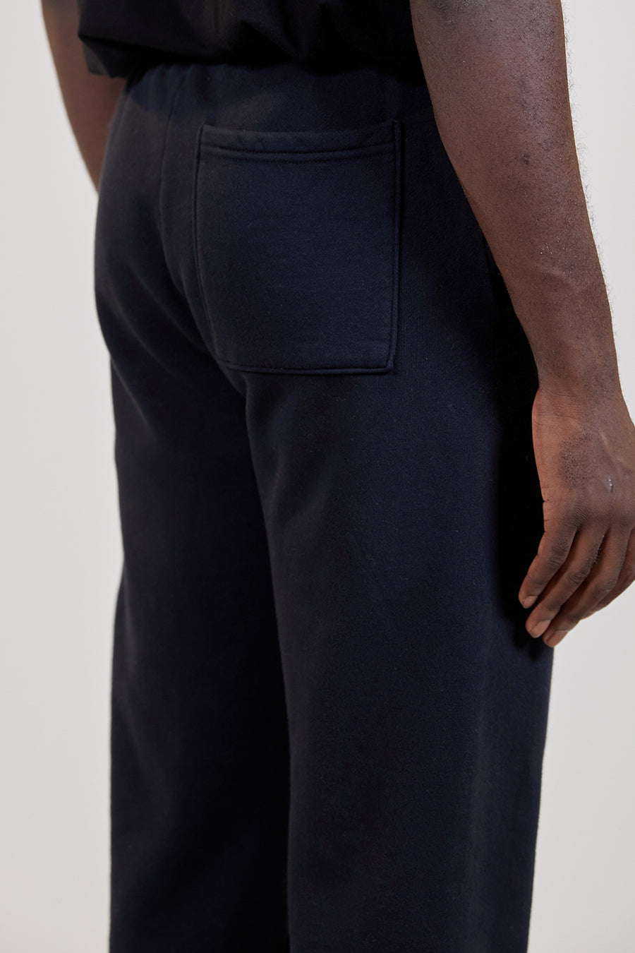 Organic Fleece Pant | Black