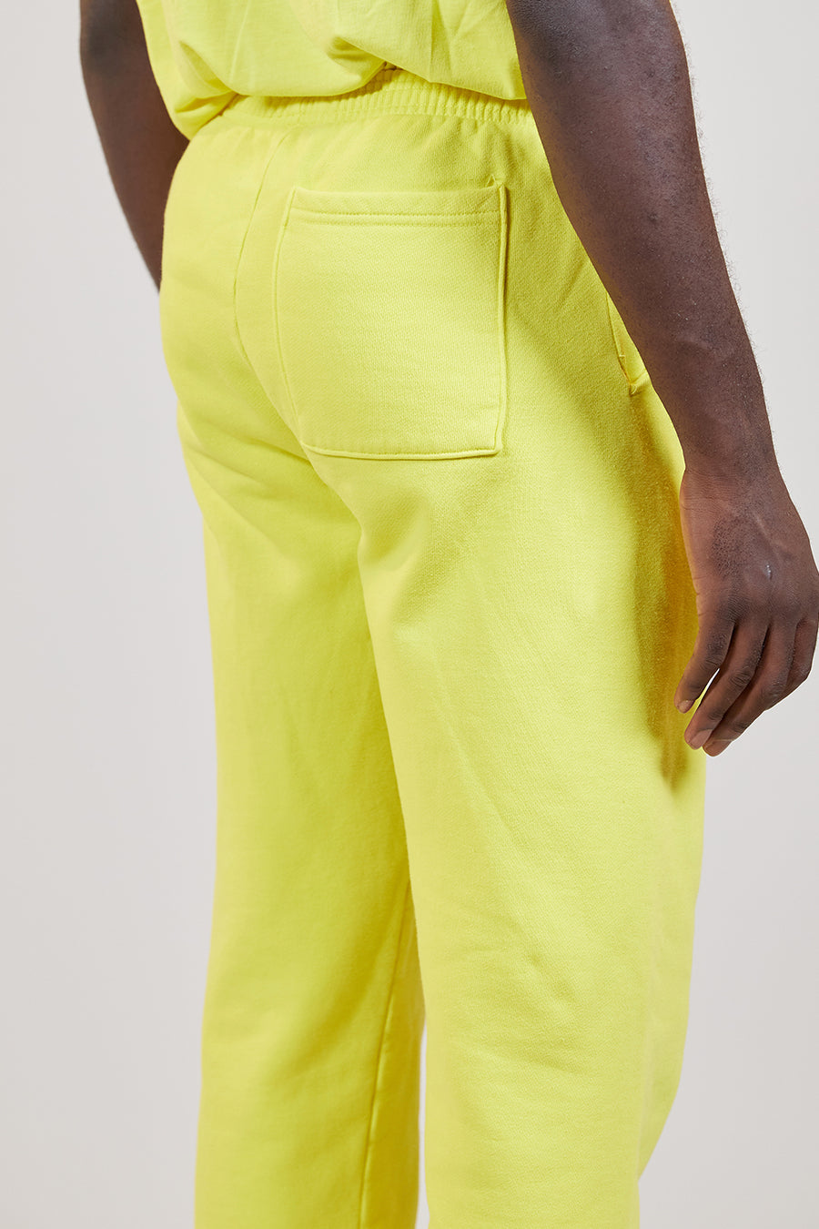 Organic Fleece Pant | Lemon