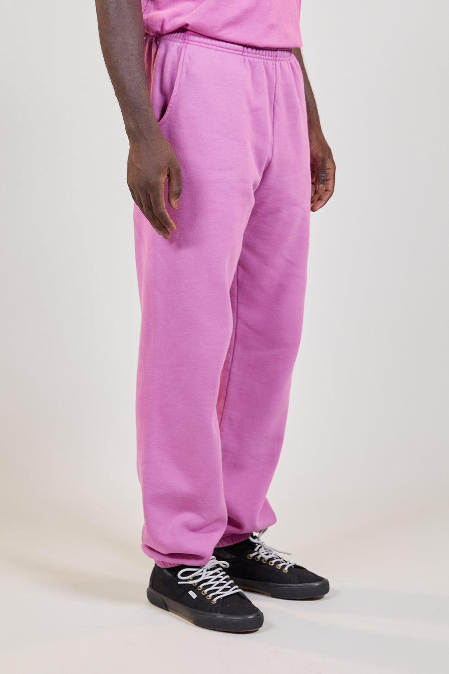 Organic Fleece Pant | Ultraviolet
