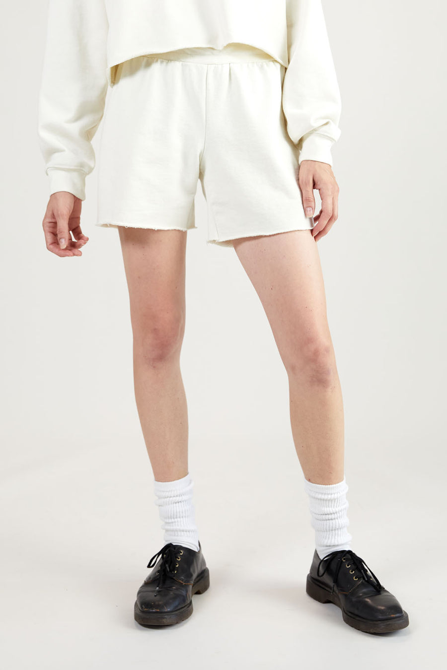 Recycled Terry Women's Short | Off-White