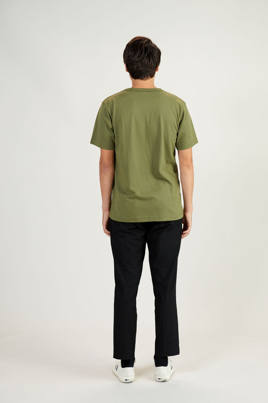 Recycled Tee | Moss