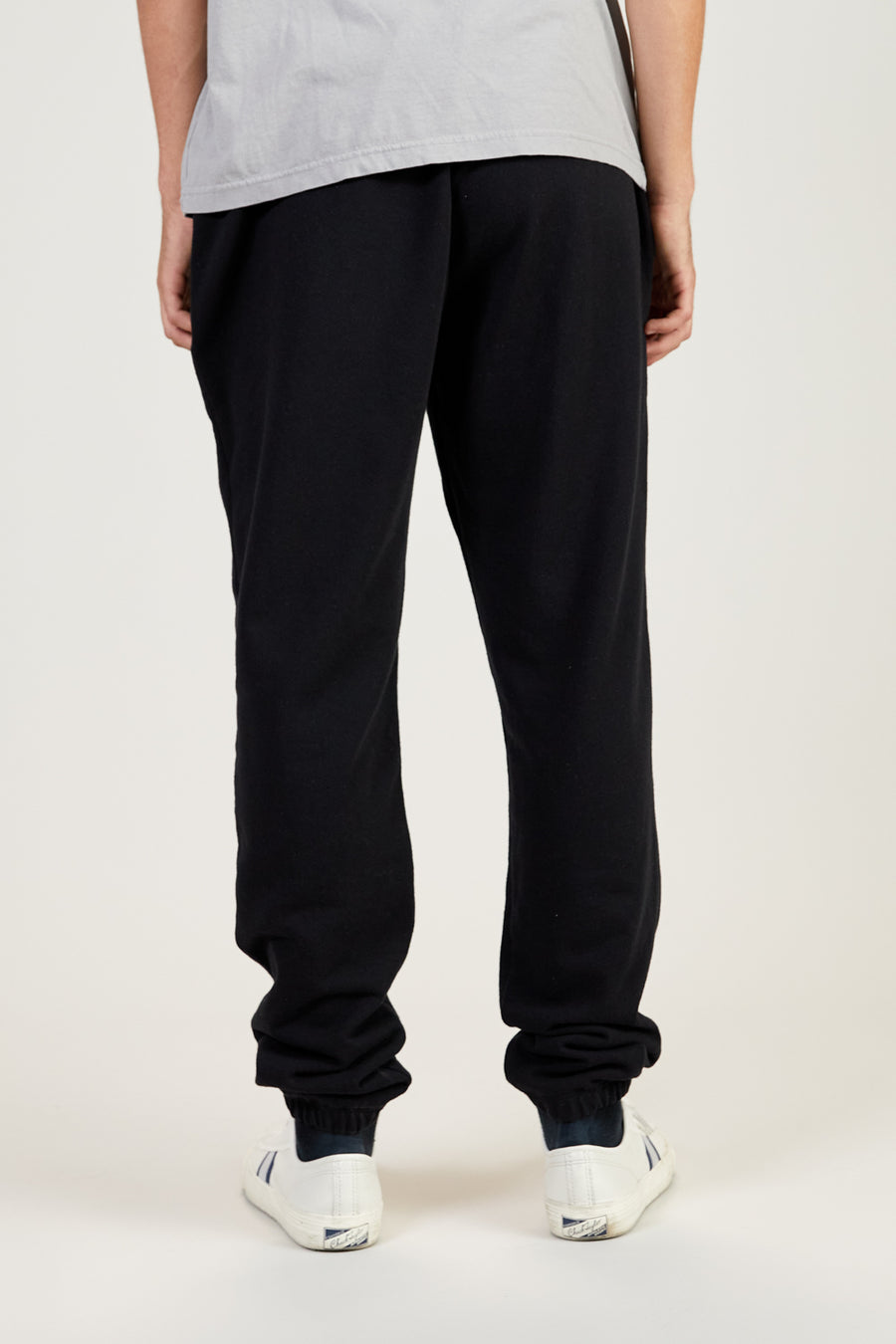 Recycled Terry Sweatpants | Faded Black