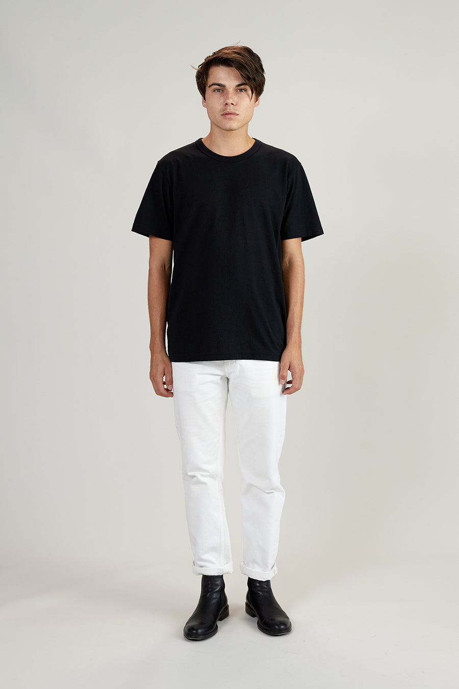 Recycled Tee | Vintage Black