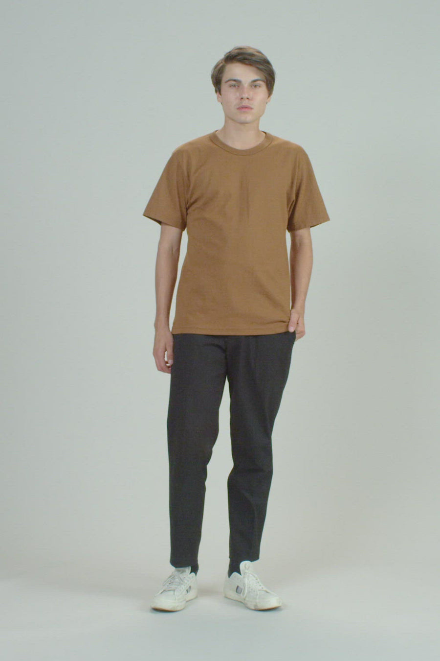 Recycled Tee | Toffee
