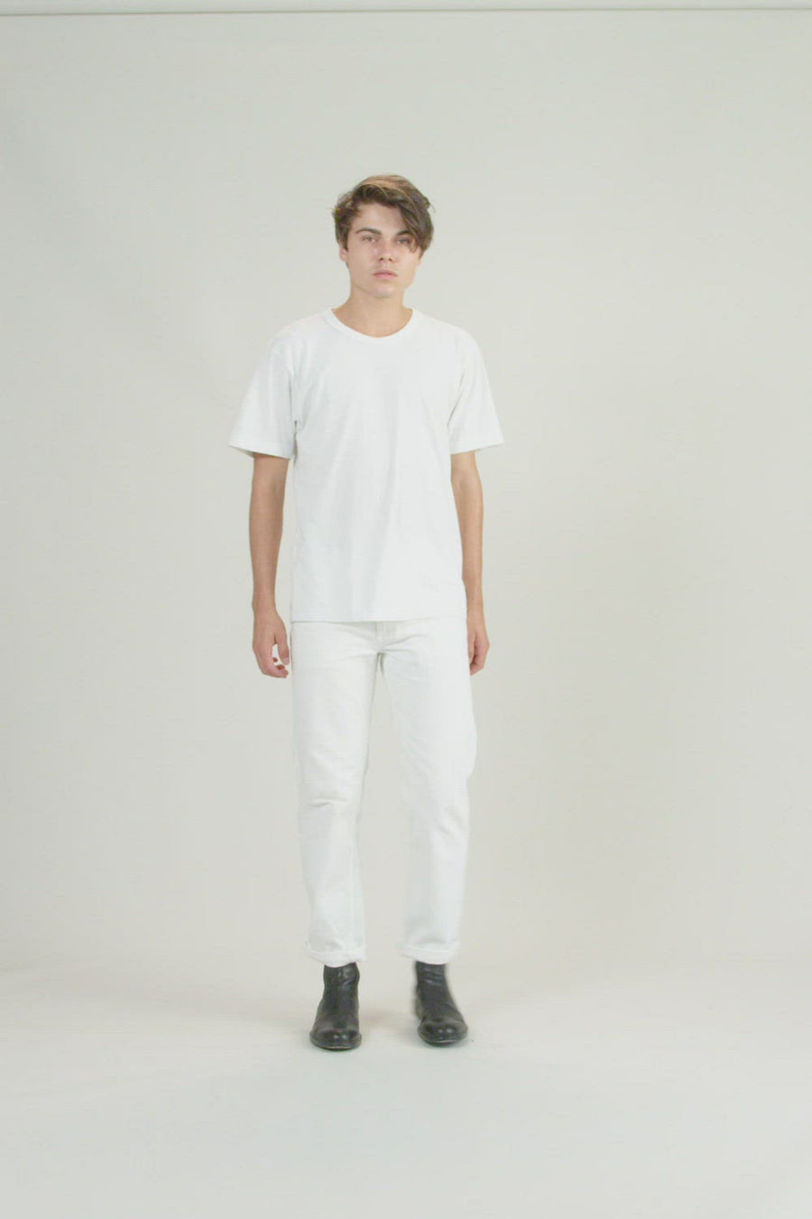 Recycled Tee | Vintage White