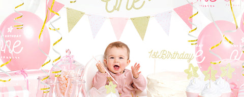 Girl's 1st Birthday Party