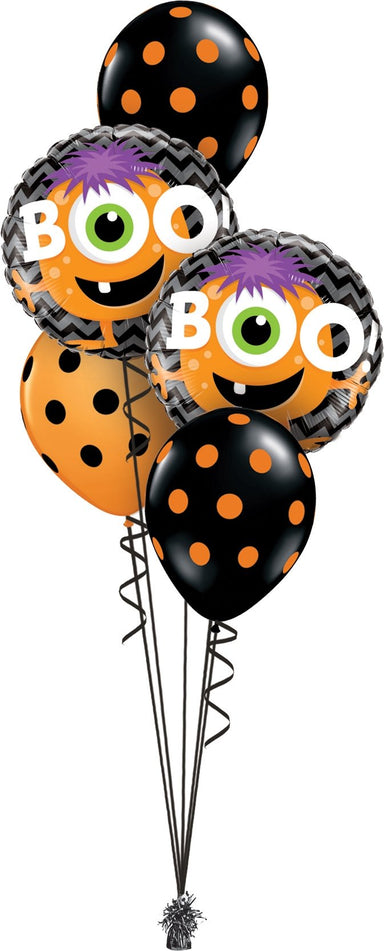 Boo Monster Balloon Bouquet - PartyFeverLtd
