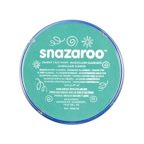 Snazaroo Sea Blue Face Paint - PartyFeverLtd