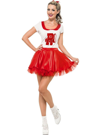 Sandy Cheerleader Costume - PartyFeverLtd