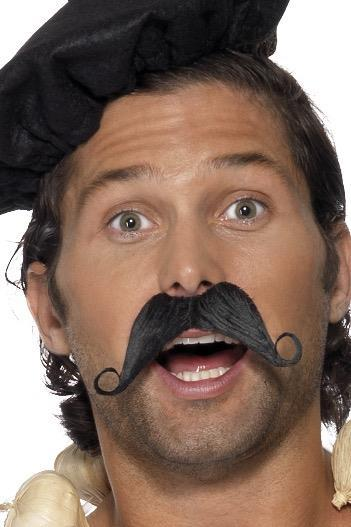 Frenchman Moustache - PartyFeverLtd