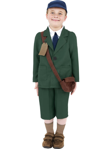World War II Evacuee Boy Costume - PartyFeverLtd