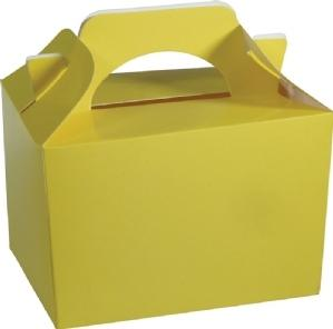 Yellow Party Lunch Box - PartyFeverLtd