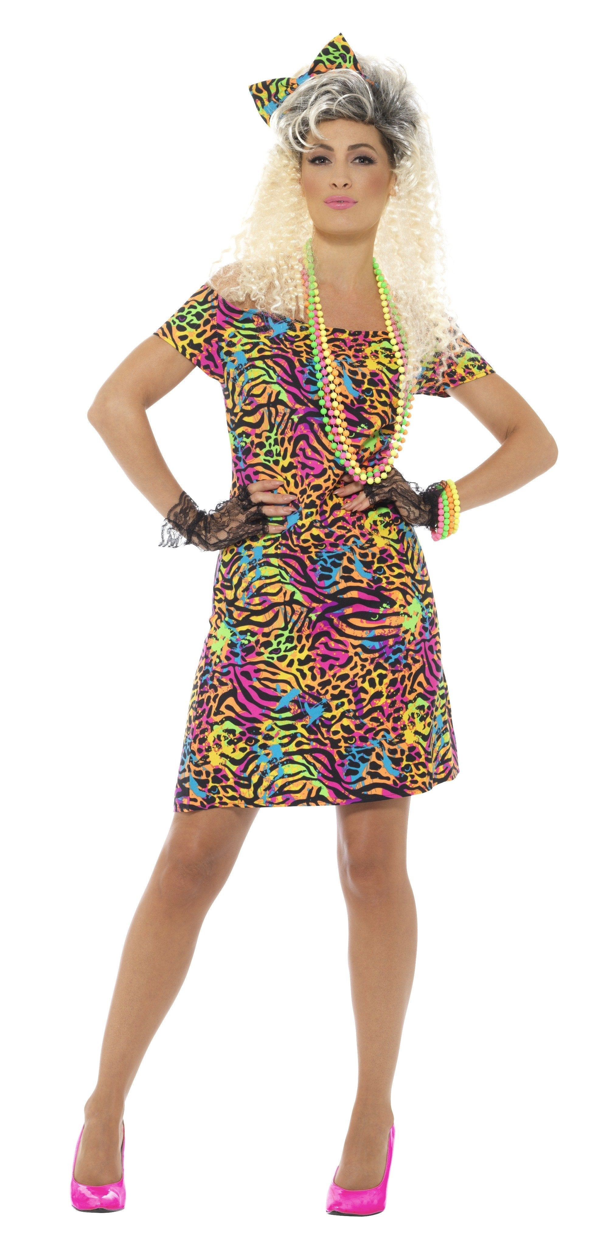 80's Party Animal Costume - PartyFeverLtd