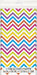 Rainbow Chevron Tablecover - PartyFeverLtd